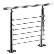 stainless steel rod modern design ms pipe railing morden house terrace railing designs