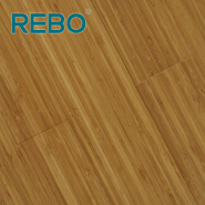 Carbonized vertical indoor bamboo flooring B061