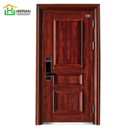 China supplier Luxury stainless steel front door designs with door frames