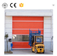 Factory Directly Automatic High Speed PVC Rolling Door