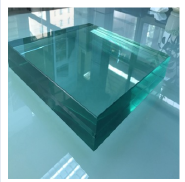 4mm+0.76mm+4mm clear tinted tempered laminated glass for curtain wall windows doors