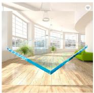 Hot Sale Living Room Furniture Centre Elegant Glass