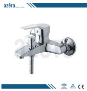 Import From China Wholesale Artistic Chrome Brass Bathroom Mixer Bathtub Bath Faucet