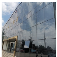 10mm frameless low e tempered glass for railing balcony curtain wall