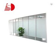 10mm frameless clear tempered glass for railing balcony