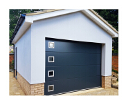 cheap modern style imported polyurethane panel window inserts sectional garage doors