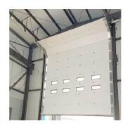 industrial automatic fast speed sectional garage door that lift encounter obstacle