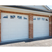 automatic or manual cheap ce certified simple style overhead sectional garage doors