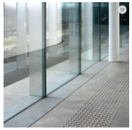 airport glass curtain wall in curtain walls Type and Aluminum Material structural glass