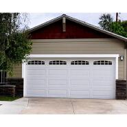 discount cheap double sectional garage doors
