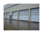 Chinese automatic polyurethane panel garage door by OEM