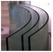 Curved 10mm 12mm 15mm 19mm Flat Tempered Glass Toughened curtain wall section
