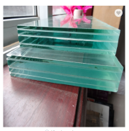 2134*3300mm Laminated Glass Administrative building glass