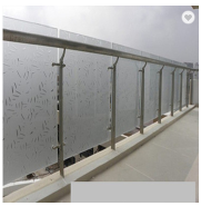 10mm safety clear tempered glass for glass curtain wall