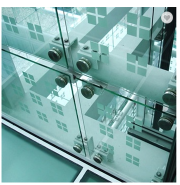 4mm -16mm Flat Tempered Glass