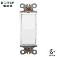 15-Amp Single Pole Switch, White