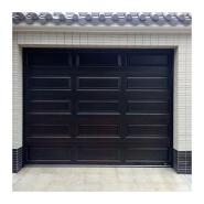 residential sectional garage doors with windows