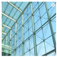 airport glass curtain wall in other home decor 3mm+0.38mm+3mm Laminated Glass