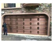 Chinese cheap sectional garage door with high quality springs bumper
