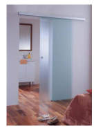 Ready Made Shower Door Frosted Tempered Glass For Sale