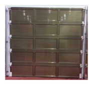 automatic sectional garage door with installation instructions