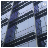 airport glass curtain wall in curtain wall safety clear laminated tempered glass