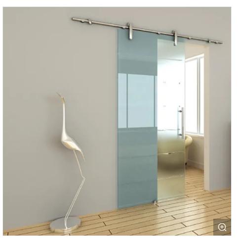 Toughened Glass Frameless Glass Sliding Door / Sliding Glass Door