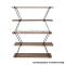DIY layer rack five layers of pine wood panel iron art frame layer frame