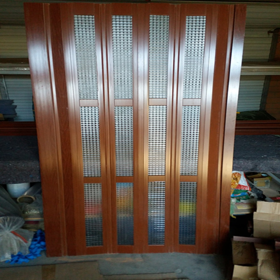 Pvc folding door garage in dubai