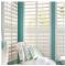 Reinforced Louver Components Interior PVC Plantation Shutter Window (TS-1122)