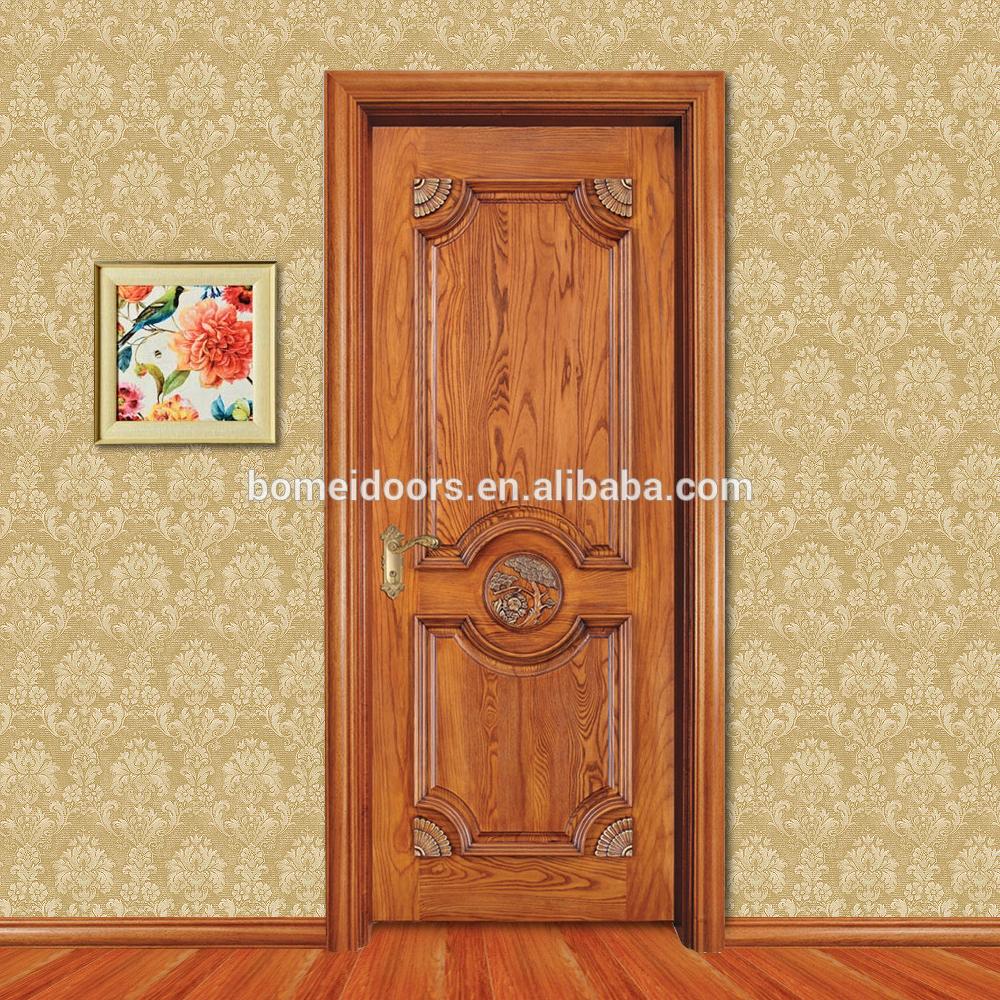 Entry Door Solid Wooden Door Top Quality Luxury Villa Room Door