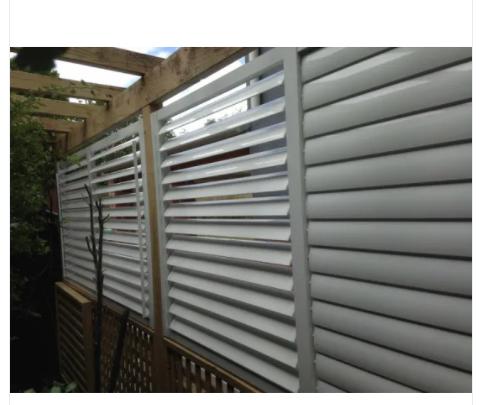 Aluminum Sun Shutter for Exterior Sunshade System of Buildings