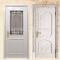 solid wood white bedroom door