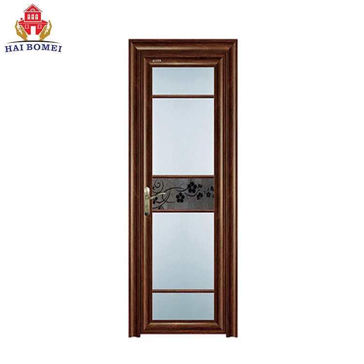 High Strength Aluminum Alloy Glass Swing Doors