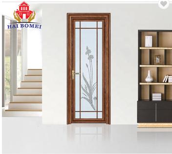 2018 high quality aluminum alloy door designs