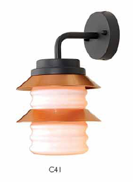 Outdoor wall light C41