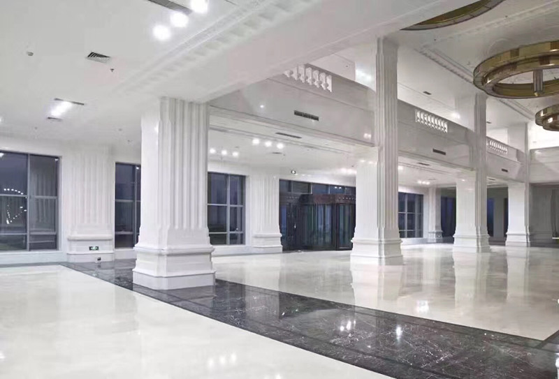 White Marble Polished Natural Stone for Interior Decoration