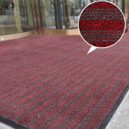 Water absorbing material for floors door mats anti skid pvc backing entry carpet