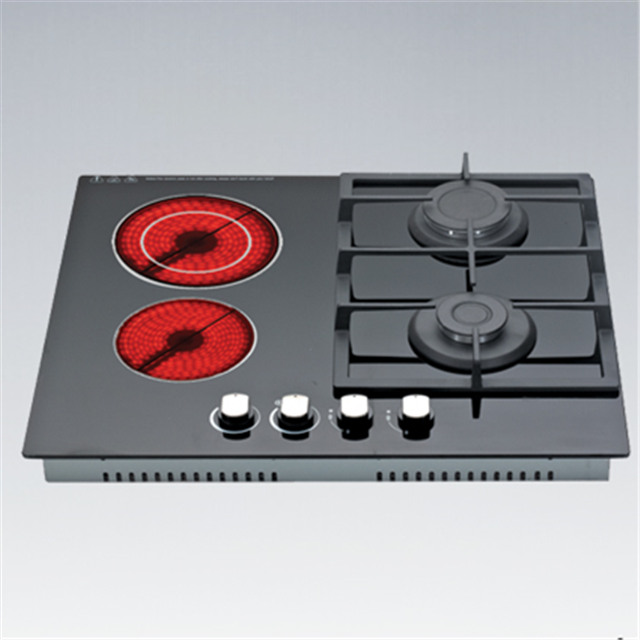 Built-in 2 Gas Cooktops & 2 Electric Induction Cooker Spare Parts from China Electronics Appliances