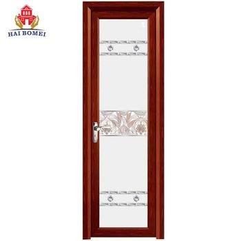 Hot sale bathroom door aluminium alloy tempered glass waterproof door