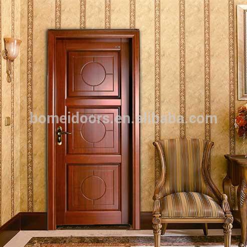 Modern wood door interior door