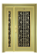 Luxury windows grill iron stainless steel security exterior gate doors design