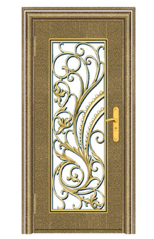 Luxury design Grill iron window security door pre-hand entrance door