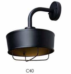 Outdoor wall light C40