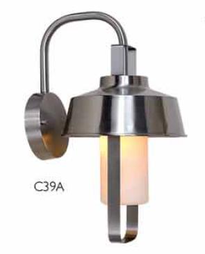 Outdoor wall light C39A