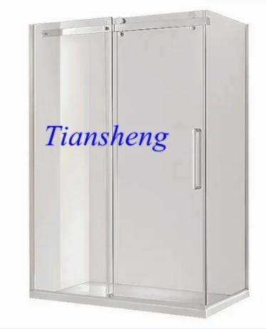 Shower Glass Door, Frameless Bathroom Door