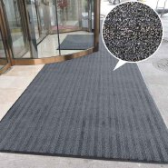 Most popular Custom Non Slip Rib PVC Entrance Outdoor Indoor Floor Mat for commercial