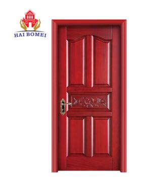 China solid wood security doors new single door