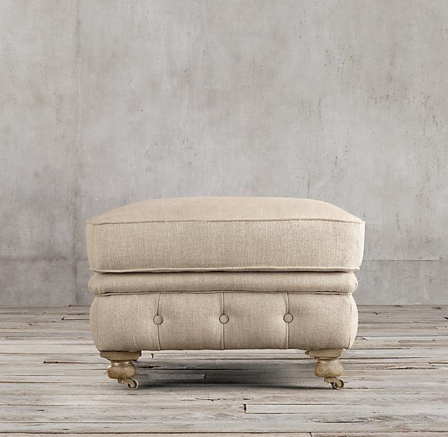American country style ottoman, rest stool, change shoe stool