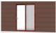 Soundproof Aluminium Sliding Doors with As2208 Double Glazing